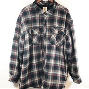 Dickies Sherpa lined flannel sz XL